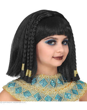 Mısır Kleopatra kızlar için peruk