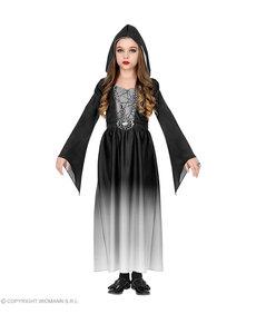 Disfraz de dama gótica para niña