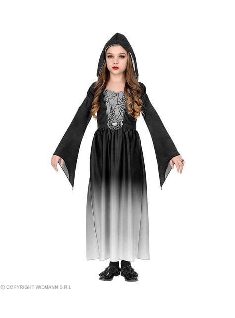 Disfraz de dama gótica para niña - niña