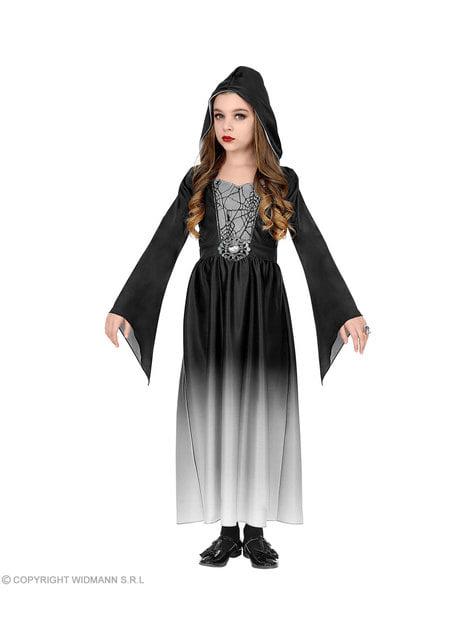 Disfraz de dama gótica para niña - original