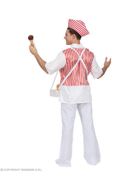 Disfraz de heladero para hombre - original