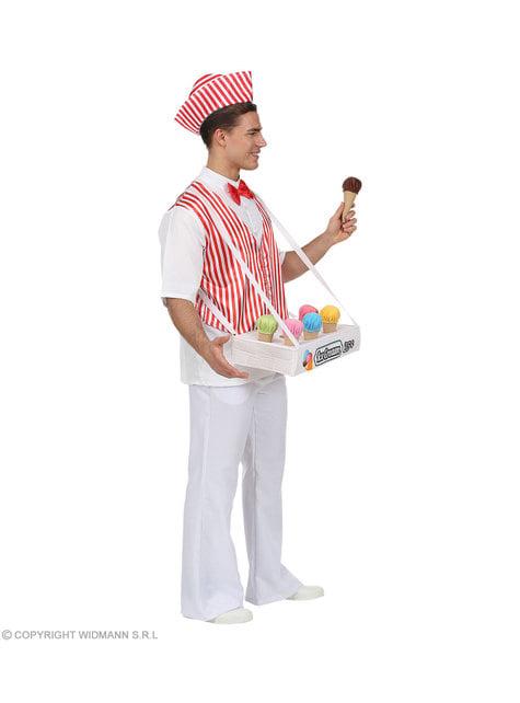 Disfraz de heladero para hombre - traje