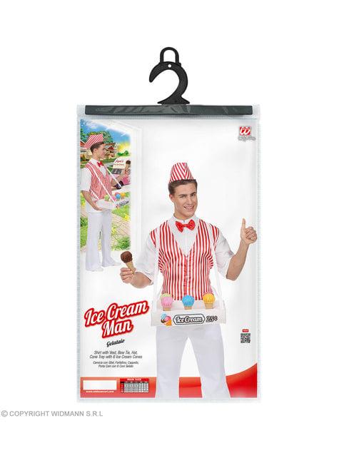 Disfraz de heladero para hombre - Halloween