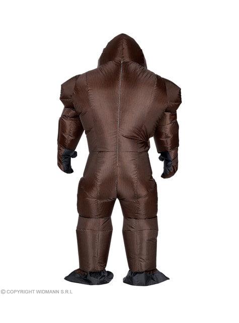 Disfraz de gorila Kong hinchable para adulto - original