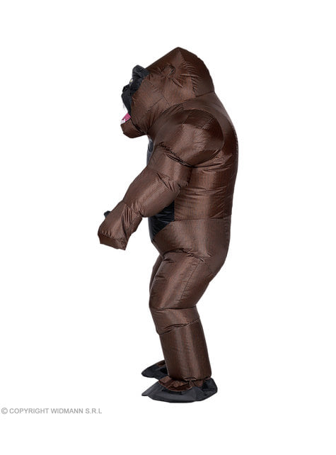 Inflatable Kong gorilla costume for adults