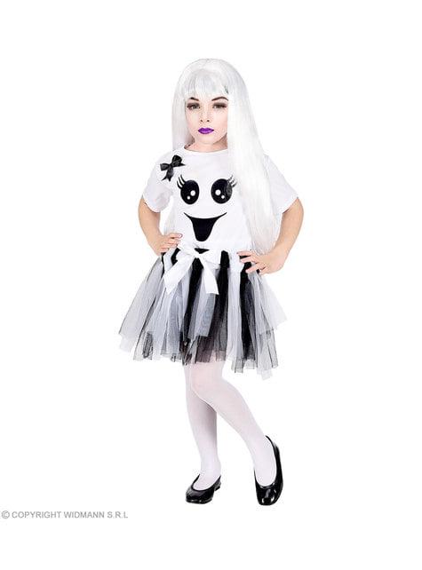 Disfraz de fantasma adorable para niña