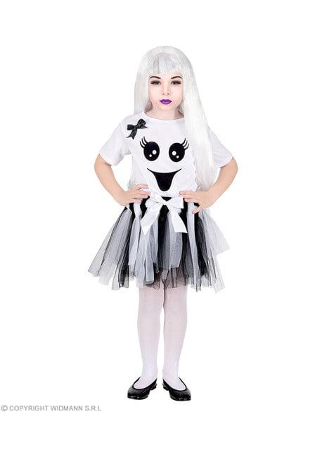 Disfraz de fantasma adorable para niña - niña