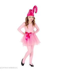 Disfraz de flamenco rosa para niña