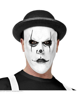 Psykopat harlequin maske til voksne