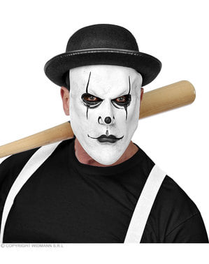 Maschera di arlecchino psicopatico per adulto