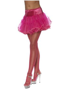 Unterrock aus Tüll Hot Pink