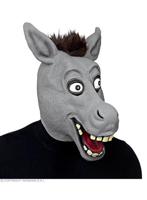 Máscara de asno gracioso para adulto - para tu disfraz