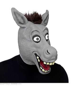 大人のための面白いロバマスク