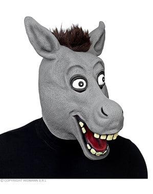Maschera di asino grazioso per adulto