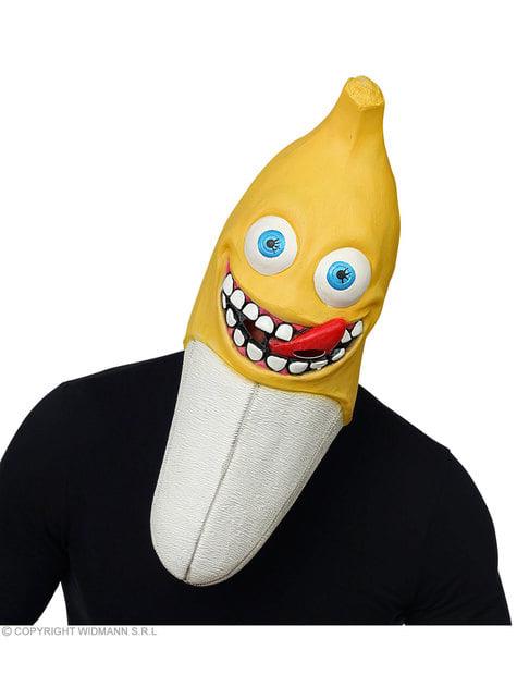 Creepy banana mask for adults
