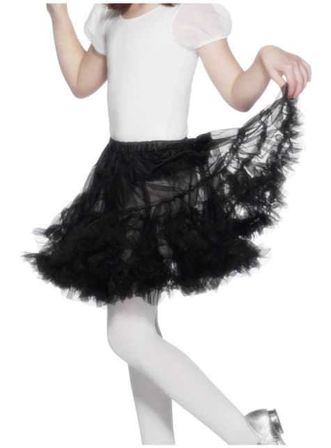 Black Tulle Petticoat Girls