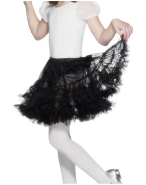 Black Tulle Petticoat Girls