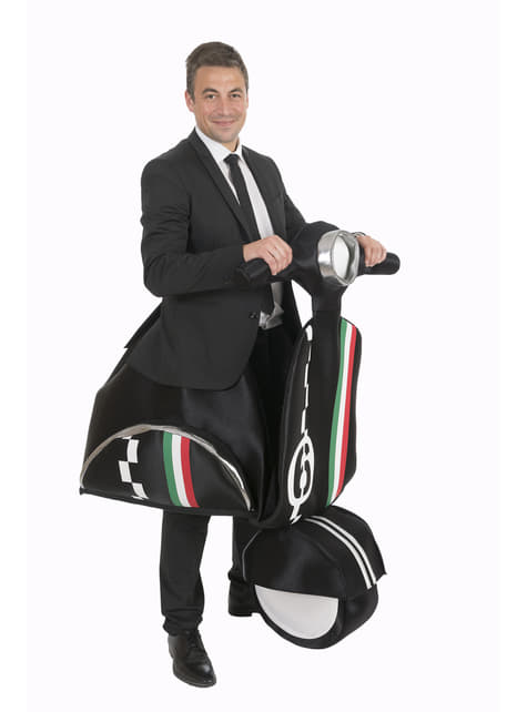 Italian moped costume for adults