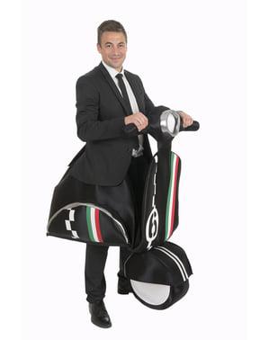 Italienisches Motorrad Kostüm für Erwachsene