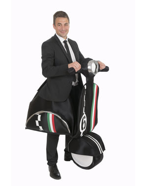 Kostým pro dospělé italský jezdec na motroce