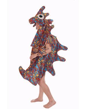 Fato de cavalo marinho multicolor para adulto