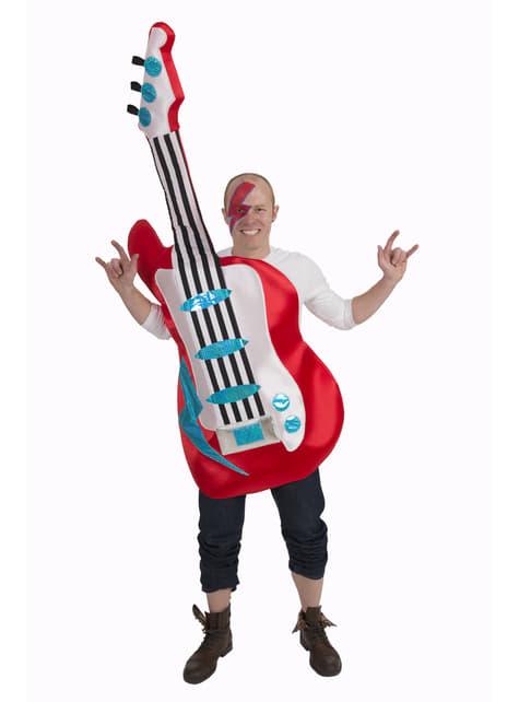Fato de guitarra elétrica para adulto