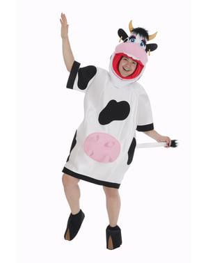 Fato de vaca para adulto