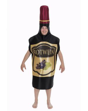 Wine bottle kostyme til voksne