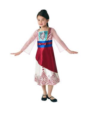 Disfraz de Mulán para niña