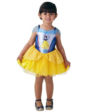 Costume di Biancaneve Ballerina per bambina