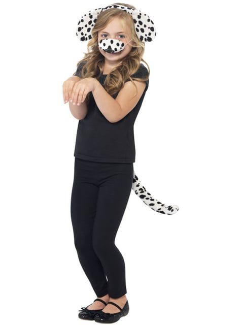 Dalmatiner Hund Kostyme Sett til Barn