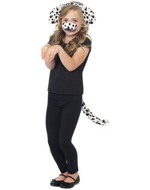 Kostýmový set Dalmatinský pes pro děti
