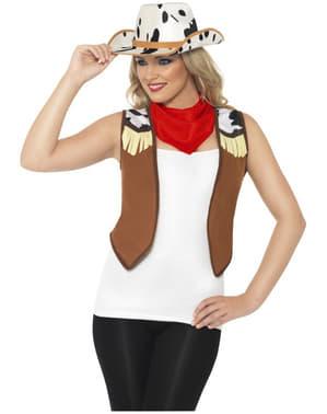 Wilder Westen Kostüm für Damen