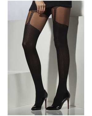 Tights with Garter Belt
