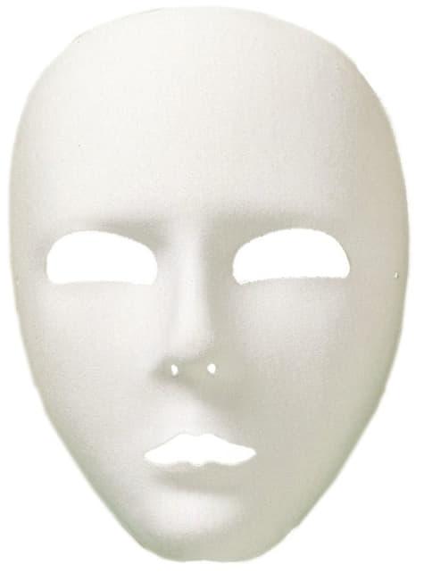 Masque blanc basique
