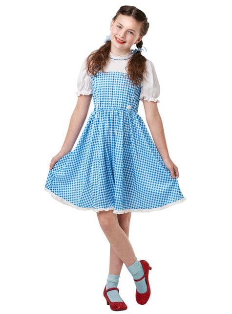 Kostium Dorotka dla dziewczynki Czarnoksiężnik z krainy Oz