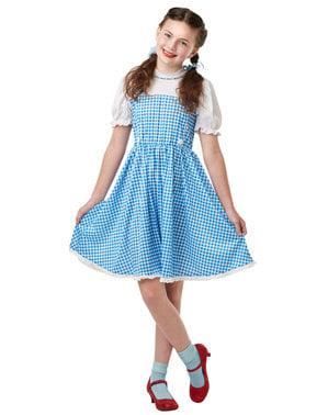 Dorothy kostume til piger - The Wizard of Oz