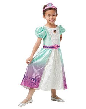 Deluxe Nella kostuum voor meisjes - Nella the Princess Knight