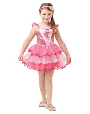 Fato de Pinkie Pie para menina - Meu Pequeno Pónei