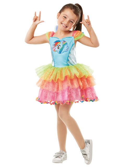Rainbow Dash costume for girls - My Little Pony