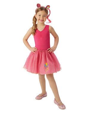 女の子のためのピンキーパイ衣装キット - マイリトルポニー