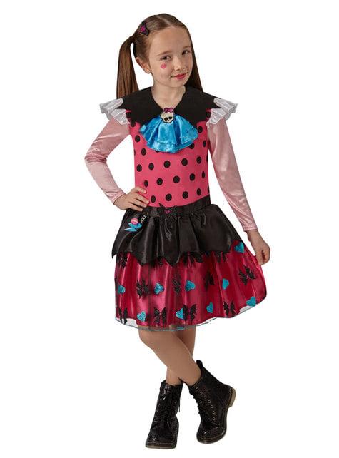 Disfraz de Draculaura para niña - Bienvenidos a Monster High