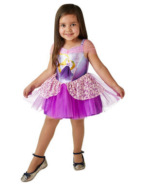 Рапунцел балерина костюм за момичета