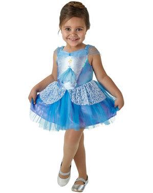 Fato de Cinderela Bailarina para menina