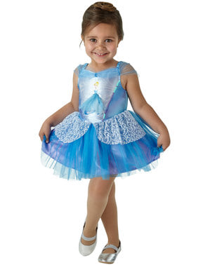 Maskeraddräkt Askungen Ballerina barn