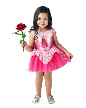 Prinsessa Ruusunen Ballerina asu tytöille