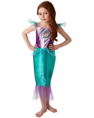 Fato de Princesa Ariel para menina - A Pequena Sereia