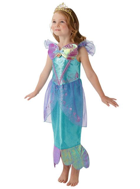 Disfraz de Ariel para niña - La Sirenita