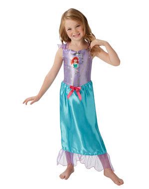 Costume Ariel per bambina deluxe - La Sirenetta