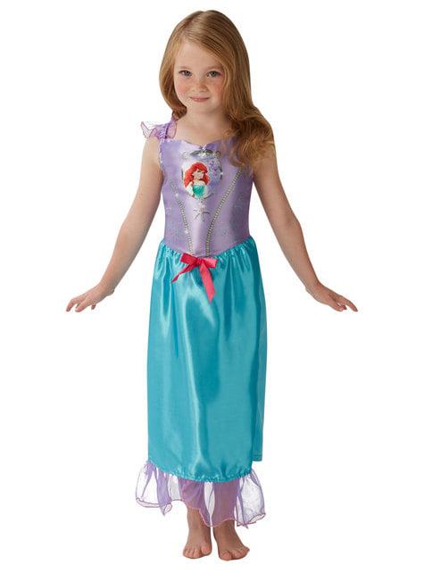 लड़कियों के लिए एरियल पोशाक - द लिटिल मरमेड